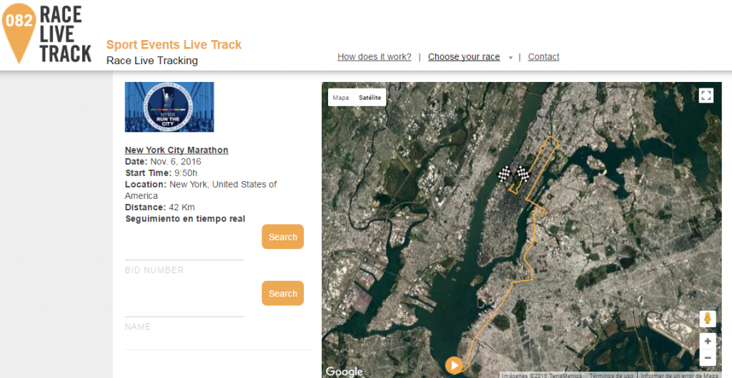 New York City Marathon Live Tracking